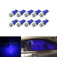 10PCS Extra Blue T10 158 168 192 921 W5W 2825 5SMD 5050 LED Bulbs