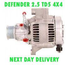 LAND ROVER DEFENDER 2.5 TD5 4X4 1998 1999 2000 2001 2002 > on RMFD ALTERNATOR