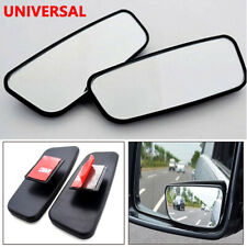 Universal 2 Pcs Wide Angle 360 Degree Rear Side View Blind Spot Mirror for Car