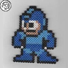 Megaman - Bead sprite perler pixel art - Perles à repasser