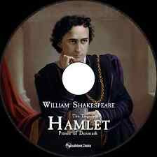 The Tragedy of Hamlet, Prince of Denmark -  MP3 CD Audiobook in paper sleeve