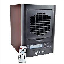 New Cherry Wood Home Air Purifier Hepa Uv Filter Ionizer Ozone Carbon UV-C