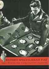 AERONAUTICA AIRCRAFT ENGINE Motoristi Fiat 1940 Brochure - DVD