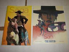 SAGA #43 and 1:100 COLOR Print Brian K Vaughan