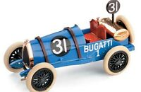 BRUMM R41  R82  R174  BUGATTI diecast model race cars 1921 - 1934 1:43rd scale