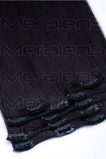 35cm 45cm 60cm Clip In Set 7 Tressen Remy Echthaar Extensions Haarverlängerung
