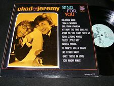 Fun Mod 60s Teen Pop Lp CHAD & JEREMY Sing For You WORLD ARTISTS Stuart Clyde!