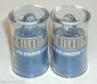 2 Milani Loose EyeShadow Powder MISTY BLUE 08 Sealed