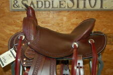 "16"" G.W. CRATE LADIES WADE ROPING SADDLE FREE SHIP NEW MADE IN ALABAMA USA"