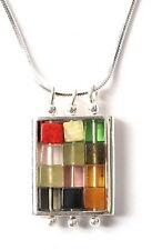 Hoshen Gem Stones Pendant Necklace Choshen Ephod Breastplate 12 Tribes of Israel