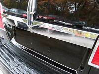 FITS LINCOLN NAVIGATOR 2007-2014 STAINLESS STEEL CHROME TAILGATE MOLDING