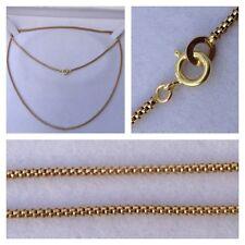 Oro Amarillo Cadena de oro ORO DE 585 Collar/Collar/Collar joya de Oro 14k