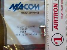 M/A-COM Cap 3202-1315-02, BNC Jack,  LOT of 10