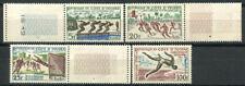 Costa d'Avorio 1961 Mi. 233-236 Nuovo ** 100% Giochi sportivi, cultura.