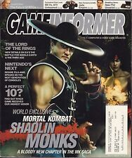 Gameinformer November 2004 Mortal Kombat, Jade Empire w/ML VG 081016DBE