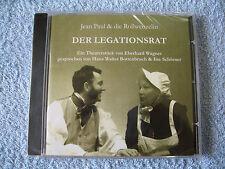 CD Theaterstück Studiobühne Bayreuth Jean Paul & Die Rollwenzelin Legationsrat