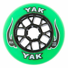 8x 100mm 88a Outdoor Inline Skate Wheels, rollerblade fitness speed skating