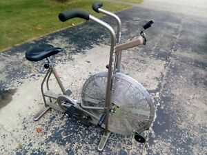 Vintage Schwinn AirDyne Air-Dyne Stationary Exercise Bike with Display