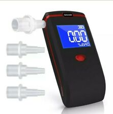 Oasser T1 Alcohol Tester Professional Breathalyzer Digital LCD with BLOW TUBES
