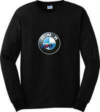 BMW M3 M5 M6 Car Sport Long Sleeve Black T-Shirt Men or Women Apparel