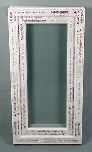 Kunststofffenster Fenster Salamander, 50x100 cm bxh, weiß