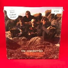 """CRANBERRIES -Ridiculous Thoughts 1995 UK 7"""" vinyl single + poster NEW SEALED"""