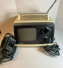 Vintage Sony TV-520 Portable Transistor TV Receiver Television Tube Charger