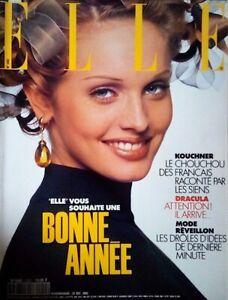 Elle magazine (French edition): December 1992 - Fashion, celebrities, etc.