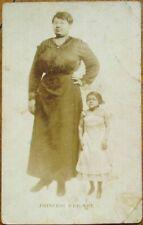 Princess Wee-Wee Black Sideshow/Freak 1915 Realphoto Postcard - Coney Island, NY