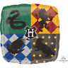 """Harry Potter Hogwarts Houses Logos 18"""" Square Foil Balloon Party Decoration"""