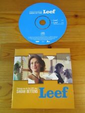 cd single Sarah Bettens - Leef