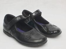 Scarpe in pelle nera per bambine dai 2 ai 16 anni