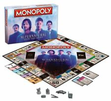 Monopoly: Supernatural Collector's Edition Board Game 6 Collectible Zinc Tokens