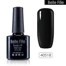 BELLE FILLE 10ml Nail Gel Polish Soak Off UV LED Lamp Manicure Lacquer Tips DIY
