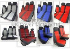 VW TRANSPORTER T5  VAN SEAT COVERS  VELOUR  TAILORED P30 IN STOCK!!!