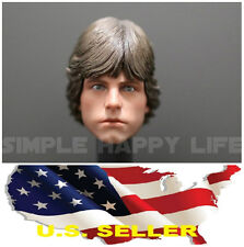 1/6 Luke Skywalker Head Sculpt for Star Wars Hot Toys Body DX07 phicen USA