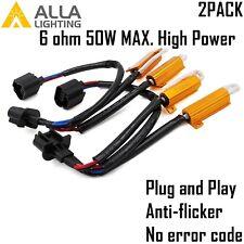 Alla Lighting H13 9008 Load Resistor LED Headlight Anti Flicking Error Canceler