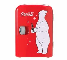 Coke Mini Fridge With Bear Is A Classic, Must-Have Accessory, Perfect For Coca