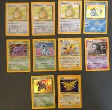 10x WOTC Holo Pokemon Cards  (Vaporeon,Jolteon,Kangaskhan, Zapdos, Nidoqueen,etc