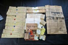 Large Lot Of Raleigh Cigarette Coupons ~ Catalog ~ Newspaper Ad ~ Letters