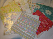 Vintage 50-60's Variety Multi Occasion Wrapping Wrap gift Paper Sheets Scrapbook