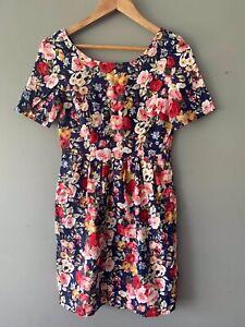 Princess Highway Size 6 Short Dress Floral Casual