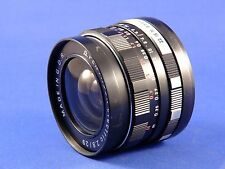 PENTACON 29MM F2.8  WIDEANGLE. ELECTRIC MOUNT,  M.42 SCREW FIT LENS.