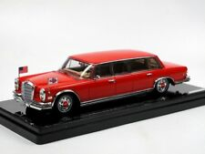 TrueScale TSM Model 1972 Mercedes-Benz 600 Pullman Red Baron Hilton Family 1/43