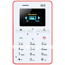 Cheap Ultra Thin  Basic Mobile Phone - AIEK M5 Card Mobile Phone 4.5mm