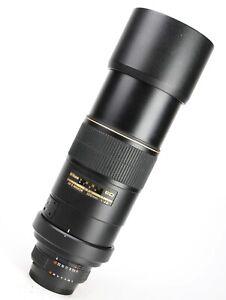 Nikon AF-S 300mm F4 D ED Autofocus Telephoto Prime Lens + Front & Rear Lens Caps