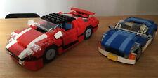 JOB LOT LEGO CARS BLUE ROADSTER 6913. SPEEDSTER 5867.