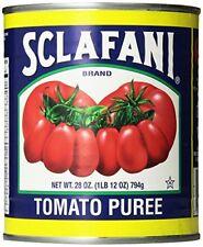Sclafani Tomato Puree 28 Ounce Pack of 12