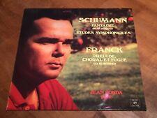Schumann Fantasia in C & Franck JEAN FONDA Piano CONCERT HALL TURICAPHON LP SMS