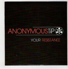 (GS158) Anonymous Tip, Your Resistance - 2014 Ltd Ed DJ CD